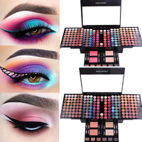 180 Color Eyeshadow Palette Full Professional Makeup Set Matte Shimmer Eye Shadow Blush Powder Sexy Beauty Makeup Cosmetic Kit