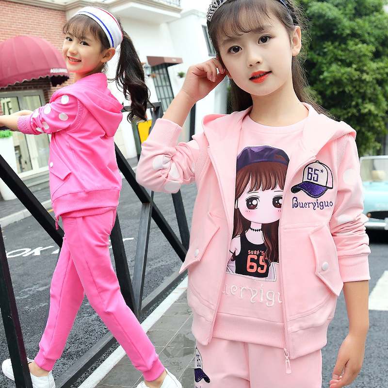 New Arrival Girls Jumpsuits Cute Kids Clothes Sets Cotton Children Clothing Set Daiyi 2018 new arrival girls clothing set