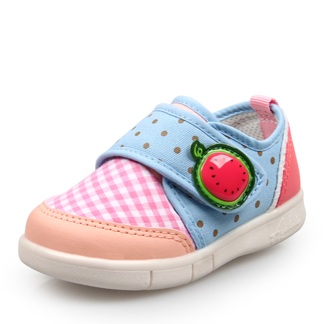 Tênis de lona Crianças Rubbler Botas Primeiros Sapatos de Bebê Sapatinhos Menina Sapatos Botinhas De Menina Primeiro Walkers Toddles 503005