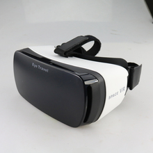 Black Eye Travel VR Virtual 3D Headset Glasses Adjustable focus Bluetooth 3.0 VR Glasses for 4 to 6 inch Cell Phone