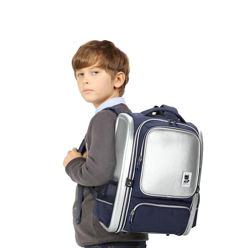2019 Light children school bags for teenagers boys larger capacity Orthopedic school backpack waterproof satchel kids
