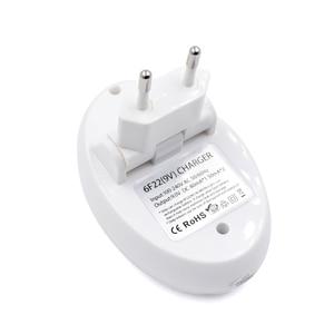 Image 3 - Chargeur de batterie PALO 9V pour batterie Lithium ion Ni MH ni cd 9V 6F22 prise ue chargeur USB 9V
