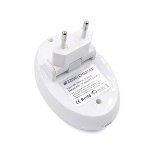 Image 3 - PALO 9V pil şarj cihazı 9V 6F22 lityum iyon Ni MH ni cd pil ab tak 9V USB şarj aleti