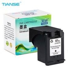 TIANSE 1 Black for HP 61 XL 61XL Ink Cartridge Deskjet 1000 1050 1055 2000 2050 2512 3000 J110a J210a J310a 5530 4500