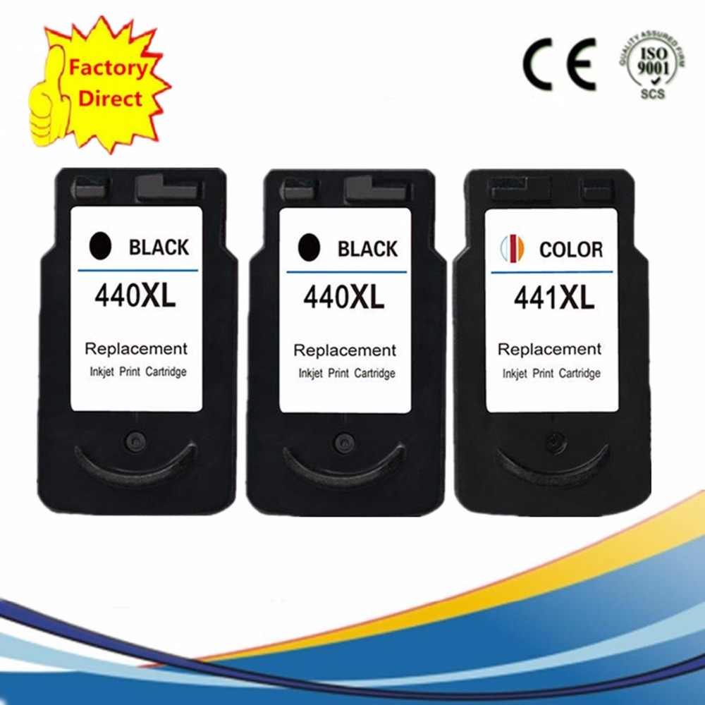 PG-440 PG 440 PG440 CL-441 CL441 CL 441 Ink Cartridge Ulang PIXMA MX374 MX394 MX434 MX454 MX474 MX514