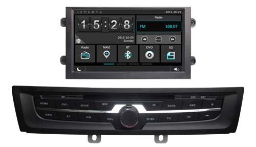 car dvd player GPS navi 1024*600 HD for MG 6 2013 headunit stereo audio autoradio with multimedia bluetooth free back camera MAP