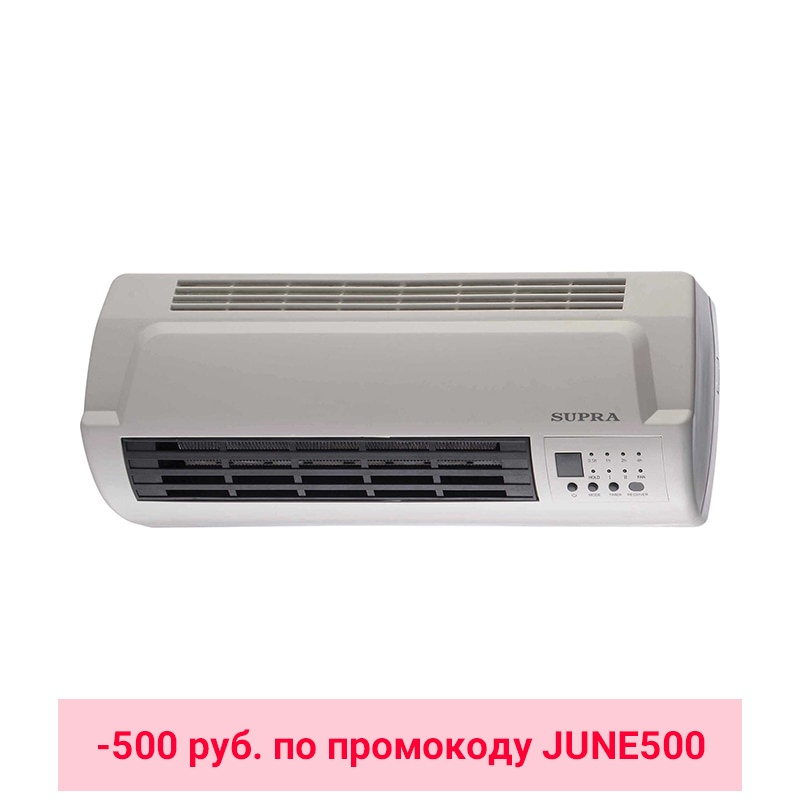 Electric Heater SUPRA WHS-2120 white цена и фото