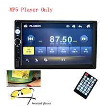 2 din Car Radio 7 HD Autoradio Multimedia Player 2 DIN Touch Screen Auto audio Car Stereo MP5 Bluetooth USB TF FM Camera rk 7158b 1din mp5 car multimedia player hd 7 inch retractable touch screen am fm stereo radio tuner car monitor bluetooth sd usb