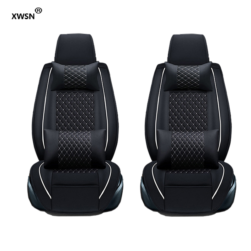 XWSN Universal car seat cover for honda civic 2003 2006-2011 accord 7 city 2013 cr-v 2011 2018 freed Car seat protector kadulee universal auto car seat cover for honda civic 2006 2011 cr v accord 7 city fit car accessories seat protector styling
