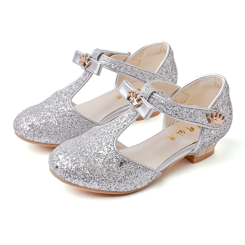 Girls Shoes Sandals Kids Glitter Leather Shoes Kids Casual Shoes Children Gladiator Sandals Baby Girls Flat Princess Beach Shoes in Sandals from Mother Kids