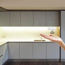 Hand Sweep Motion Sensor DC12V LED Light Read Lamp Under Cupboard Cabinet Closet