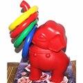 1 Conjunto Esportes Brinquedos para As Crianças Do Berçário Do Bebê Ao Ar Livre Equipamentos de Playground Presentes Anéis de Treinamento Pequeno Elefante Jogar Jogo Divertido