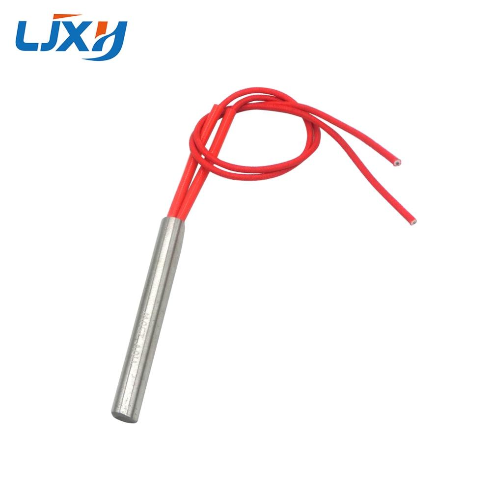 LJXH 10x80mm 10pcs Single-End Electric Heat Pipe 200W/250W/320W Electric Cartridge Heating Resistance Element AC110V/220V/380V цена