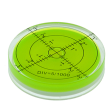 60*12mm Circular Bubble Level Spirit level Round Bubble Level Measuring Instruments Tool Universal Protractor Tool wheels go round level 1
