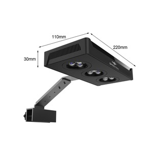 Image 5 - LED Spectra Nano Aquarium Light 30W Saltwater Lighting with Touch Control for Coral Reef Fish Tank US EU Plug