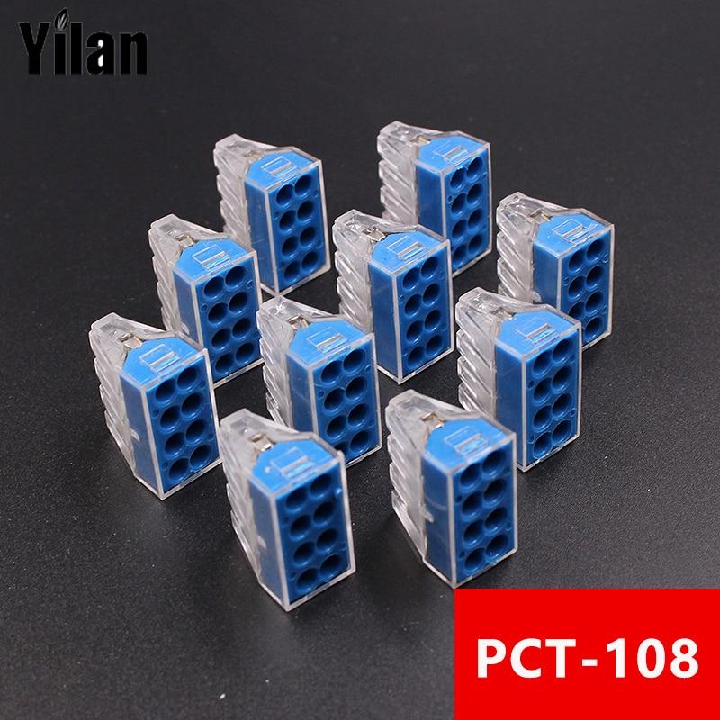 10 STÜCKE/PCT 108 hause draht anschluss harten draht verbindung ...
