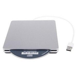 External Slot in DVD Burner USB 2.0 DVD-RW Driver DVD Optical Drive Burner Drive Superdrive for Apple MacBook Air Playing Music