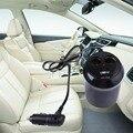 Кубок Форма Универсальный Двойной Автомобилей Прикуривателя Splitter Гнезда 2 USB Автомобильное Зарядное Устройство Адаптер Питания для сотового телефона, GPS, iPod, PDA