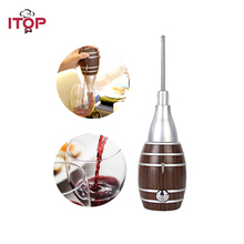 2016 Hot Sale Aliexpress Handmade Household Red Wine Decanter Wood