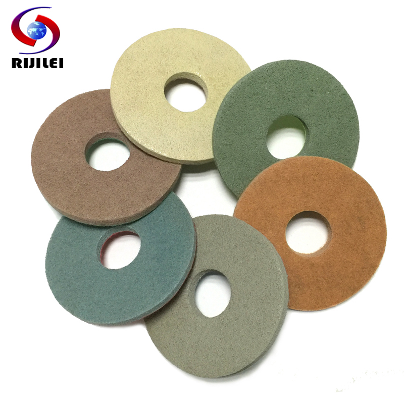 Us 23 31 38 Off 6fp6 7pieces Lot 6inch Sponge Polishing Pads For Granite And Marble 150mm Floor Polishing Pad Burnishing Buffing Cleaning Pad In