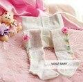 1 pc 1-3year meias meias de Renda Meia-calça Ballet voar crianças Crianças infantil Bebê meninas para a primavera da queda do outono