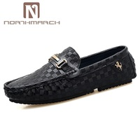 NORTHMARCH 2019 Fashion Man Shoes Casual Leather Loafers Men Shoes Slip On Driving Shoes Moccasins For Men Chaussure Homme