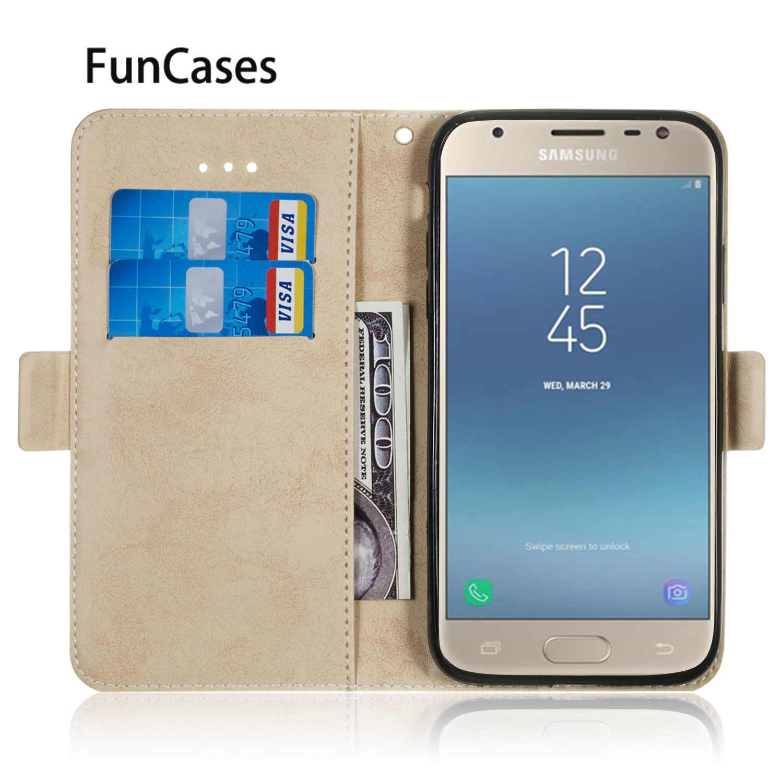 В стиле ретро из искусственной кожи с откидной крышкой для estojo samsung J7 2017 Евразийский СПС samsung Galaxy hoesje J730 J7 Pro Carcasa Аксессуары для мобильных телефонов
