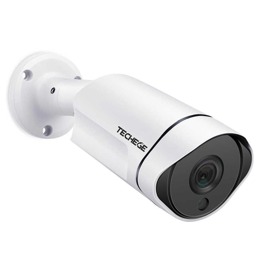 Techege H.265 5MP POE IP מצלמה חיצוני עמיד למים מעקב וידאו מצלמה Motion Dectection Onvif FTP CCTV מצלמה DC 12V /48V