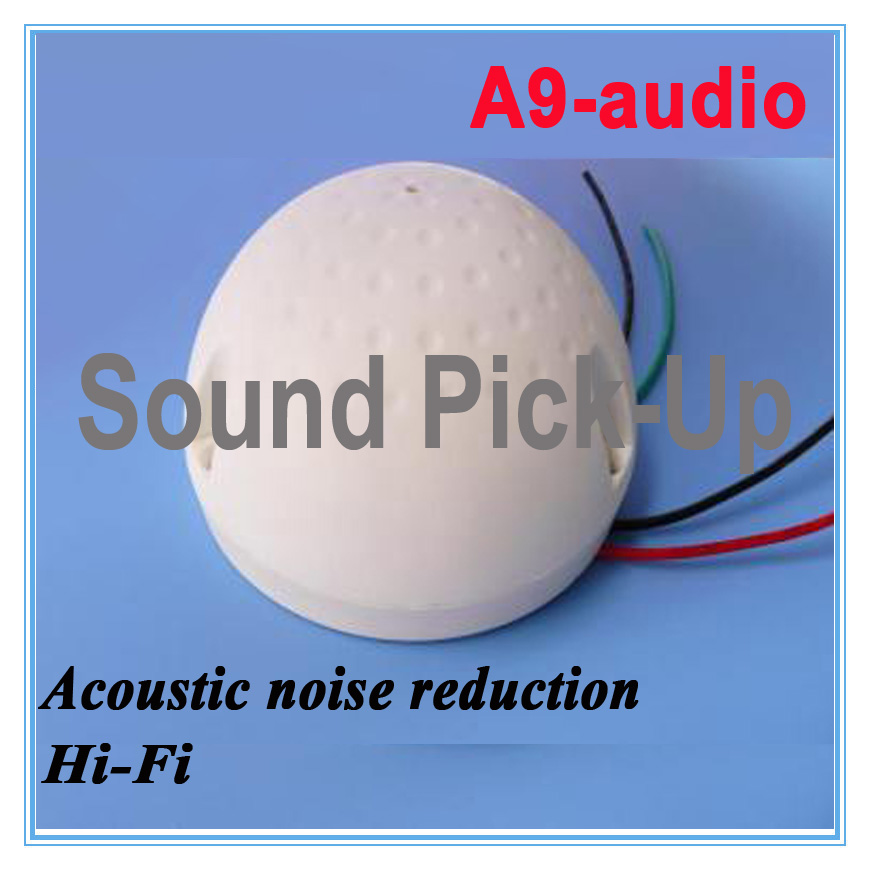 ФОТО  Noise reduction CCTV camera Sound pick-up  Mic/microphone speaker Monitor audio for Security camera DVR