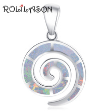 925 sterling silver curved shape white silver opal fire necklace pendants for girl fashion jewelry SP48 недорго, оригинальная цена