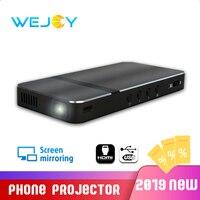 Wejoy DL V1 Pocket Portable DLP LED Projector Phone Mini Handheld Proyector 40 Keystone correction Screen Mirroring USB Gaming