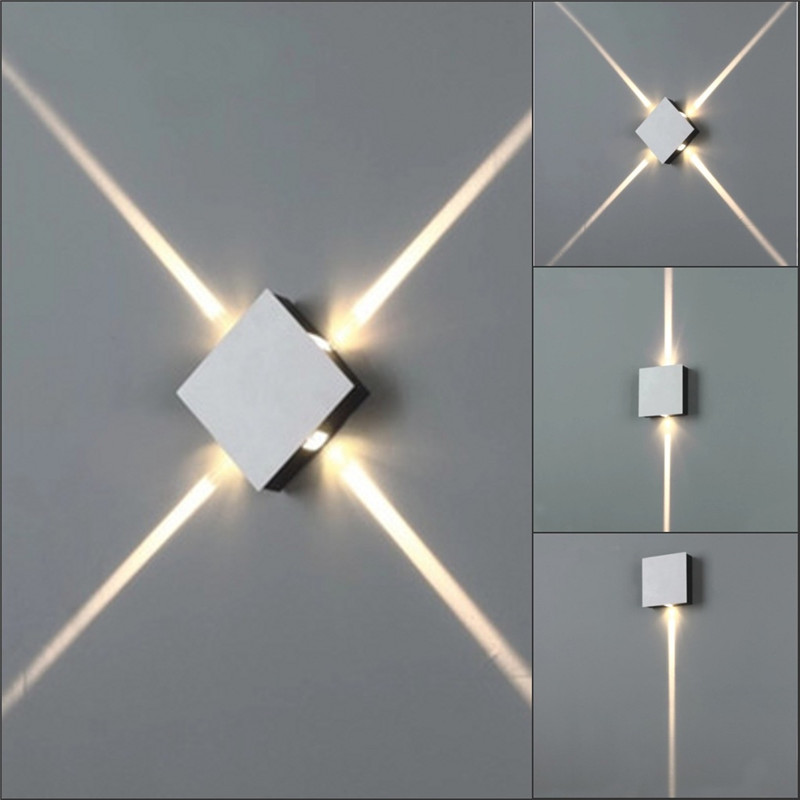 small round or square led wall lamp (3)