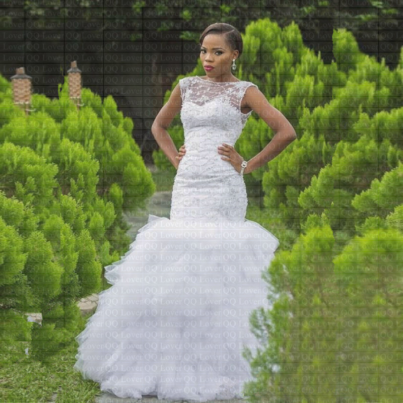 Wedding Gowns With Ruffles: Aliexpress.com : Buy 2019 New African Flowers Ruffles