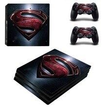 DC Superman PS4 Pro Skin Sticker Vinyl Decal Sticker