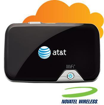 at&t MiFi 2372 Novatel Wireless 3G Broadband Wireless Mobile Hotspot WiFi Router цена