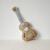 60 cm Guitarra Travesseiros Almofada Marrom Bonito Do Bebê Brinquedos de Pelúcia Macia brinquedo Encantador de Algodão Assento de Carro para Crianças Decoração do Quarto da Criança Presentes 1 pcs