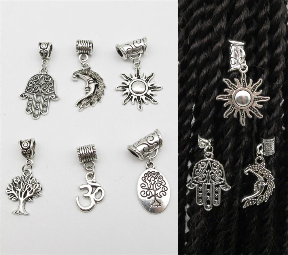 925 Sterling Silver antique empilés éléphants Gravé Charm Pendentif