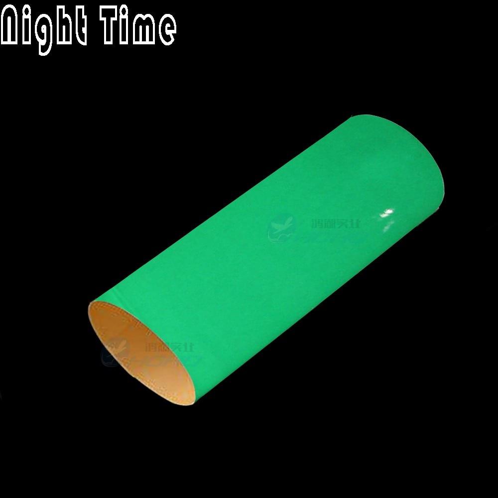 Green Glow in the Dark Car Wrap Vinyl Film Change Color Sticker Air Bubble Free