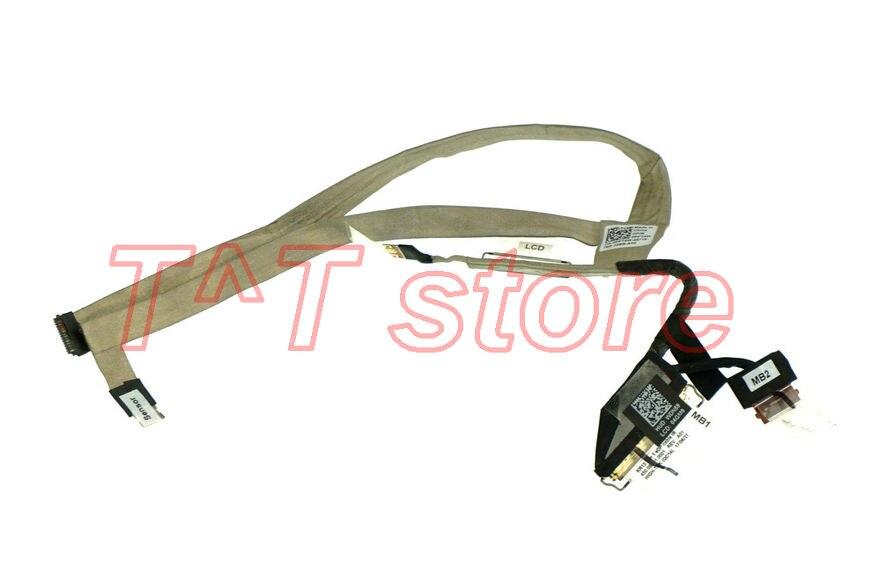 Бесплатная доставка оригинал для 13-7000 7373 ЖК-дисплей ЖК-монитор LVDS  экран кабель PPT4W 0PPT4W