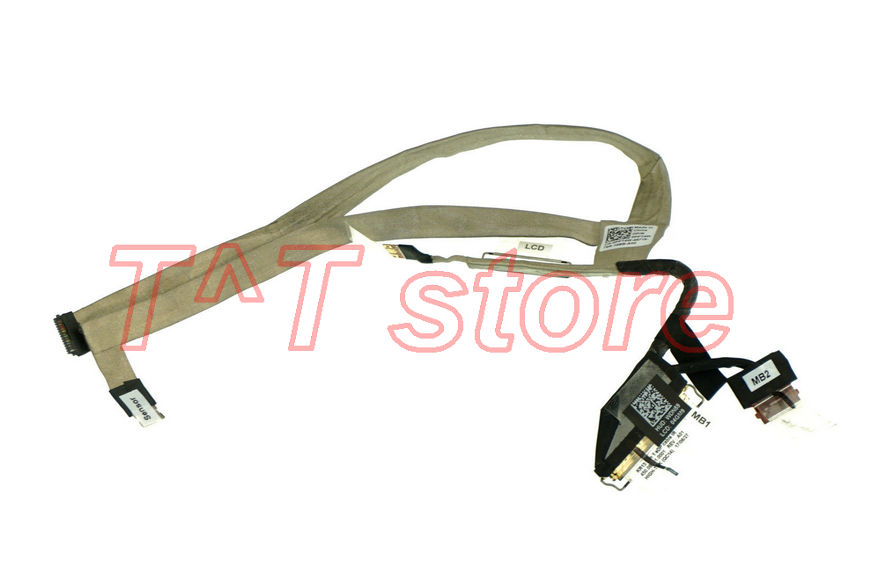 free shipping original for 13-7000 7373 lcd LCD LVDS screen Cable PPT4W 0PPT4W CN-0PPT4W 450.0B501.0002 test good цена
