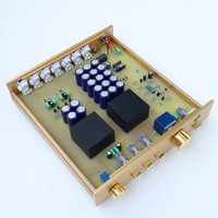 Breeze audio & Weiliang audio excellent cloned preamp FM155 match with FM300 amplifier perfectly HIFI AUDIO