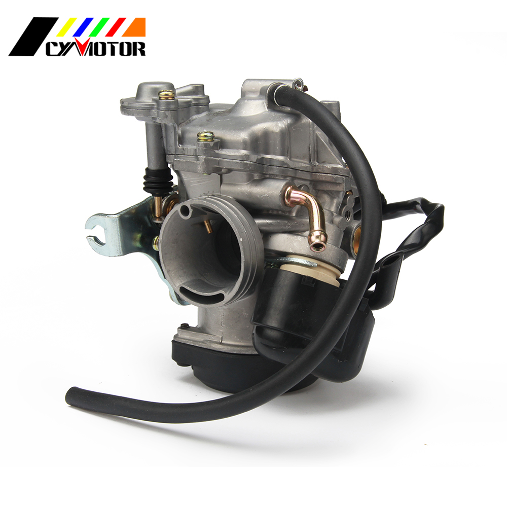 Motorcycle Carburetor CVK26 26mm Carb For Dirt Pit Bike ATV Scooter Kehin GY6 150CC-250CC 150 250 Motocross Accessories free shipping zsdtrp pd30j gy6 250 cc scooter carburetor parts vacuum model universal fit on other 250cc scooters