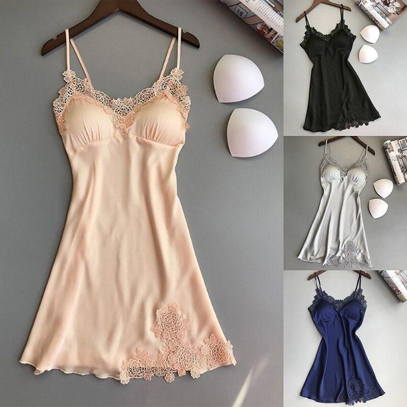 New 5 Colors Female Sexy Silk Dressing Babydoll Lace Lingerie Belt Bath Robe Solod Color Nightwear Bathrobes For Women