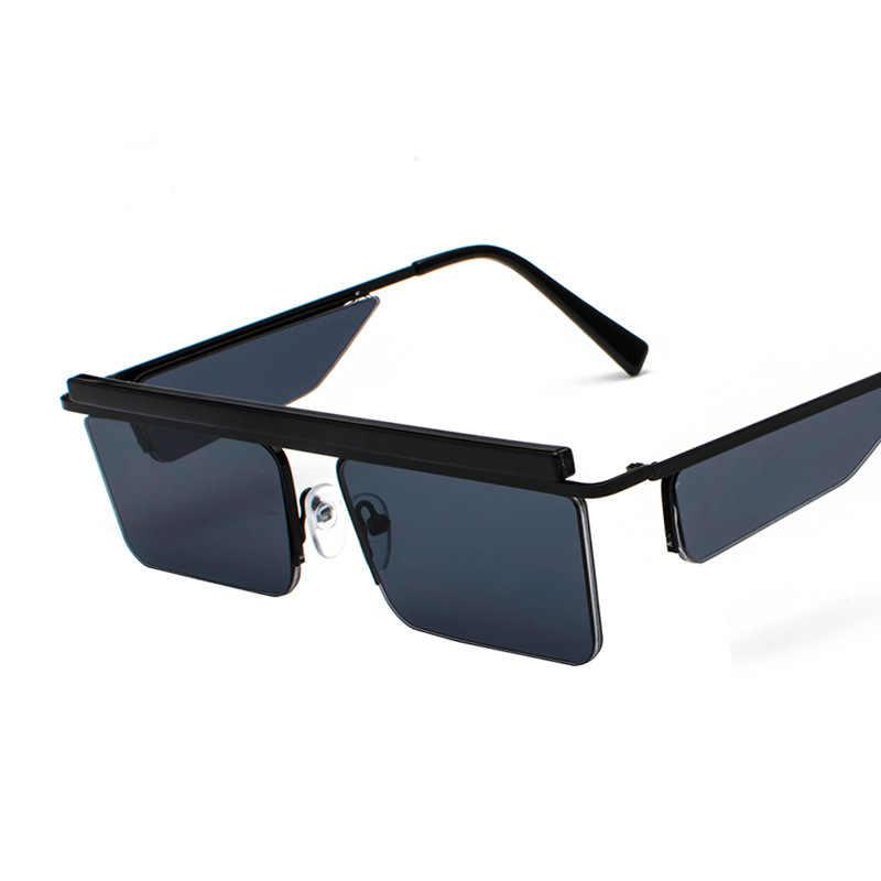 08e1d8746def ... Luxury Designer Women Men Sunglasses 2018 Fashion Rimless Square Sun  Glasses Unisex Stylish Metal Sunglass UV400