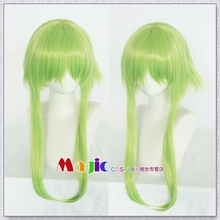2018 Vocaloid Hatsune Miku Gumi Cosplay Wig Green Synthetic HairAnime Gradient Color
