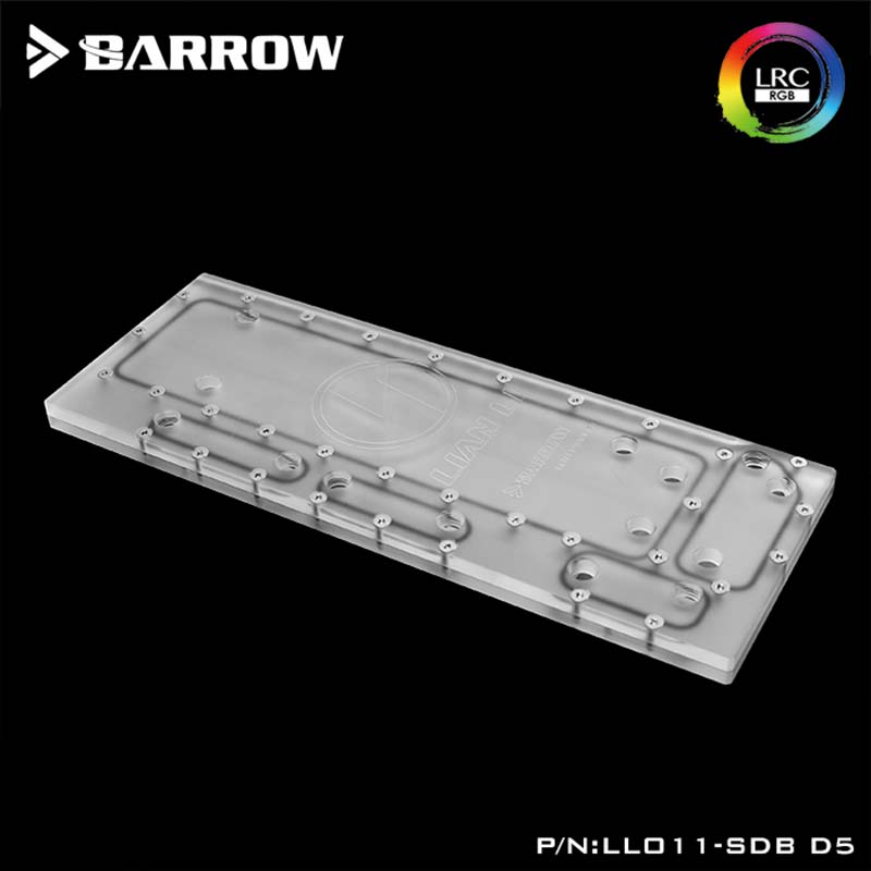 Barrow waterway plate for Lianli O11 computer case 5V RBW LRC2.0,Compatible with D5 DDC pump,water cooler Building channel boardBarrow waterway plate for Lianli O11 computer case 5V RBW LRC2.0,Compatible with D5 DDC pump,water cooler Building channel board