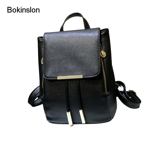 6807483a00d7 Bokinslon Brand Womens Fashion Backpacks Classic Candy Colors Women  Backpack Bag Casual College Wind School Girl Backpack