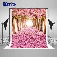 KATE свадебные Фоны розовые цветы Ёлки фото зеленые листья солнце Estudio fotografico фонов ткани penteadeira изображение