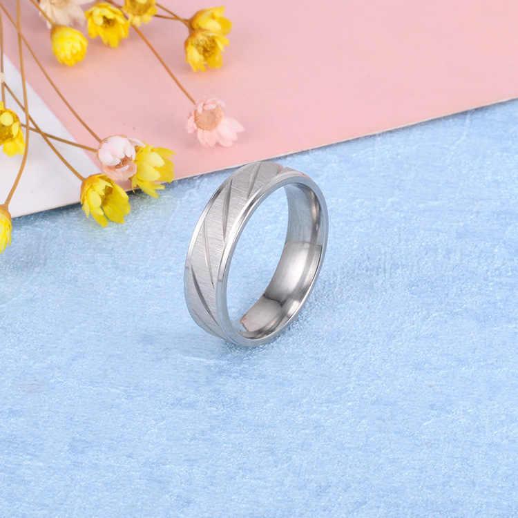 ไทเทเนียมเหล็กแหวนผู้ชาย