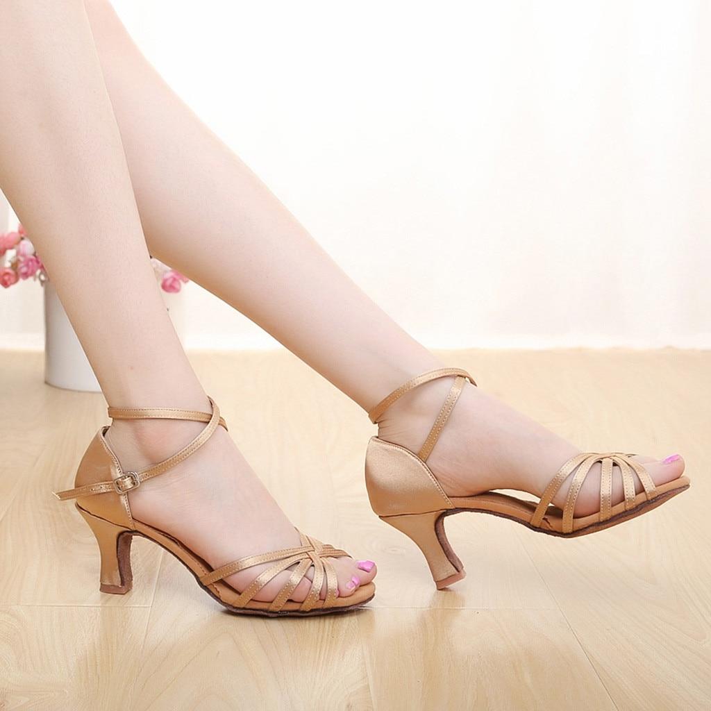 ONTO-MATO Sandals Prom-Ballroom Women's Famous-Brand Dance-Shoes Fashion Salsa Color